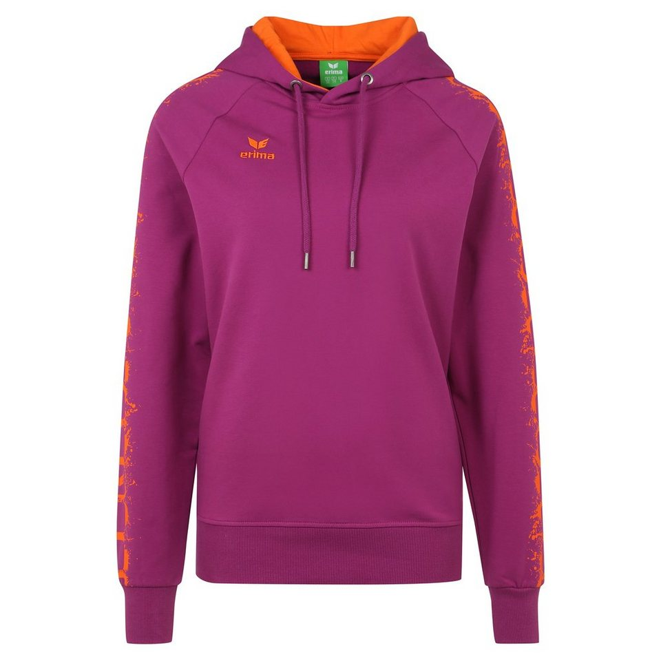 ERIMA GRAFFIC 5-C Hoodie Damen in magenta/orange