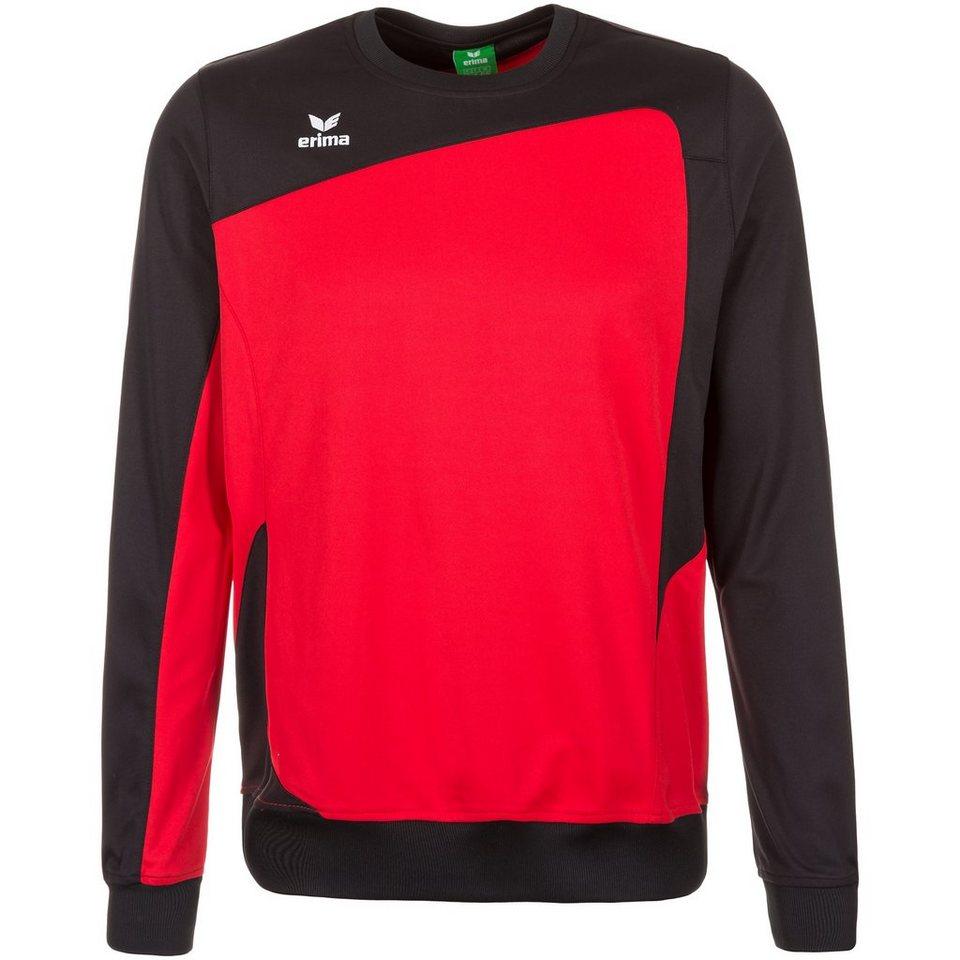 ERIMA CLUB 1900 Trainingssweat Herren in rot/schwarz
