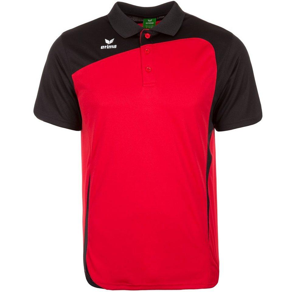 ERIMA CLUB 1900 Poloshirt Kinder in rot/schwarz