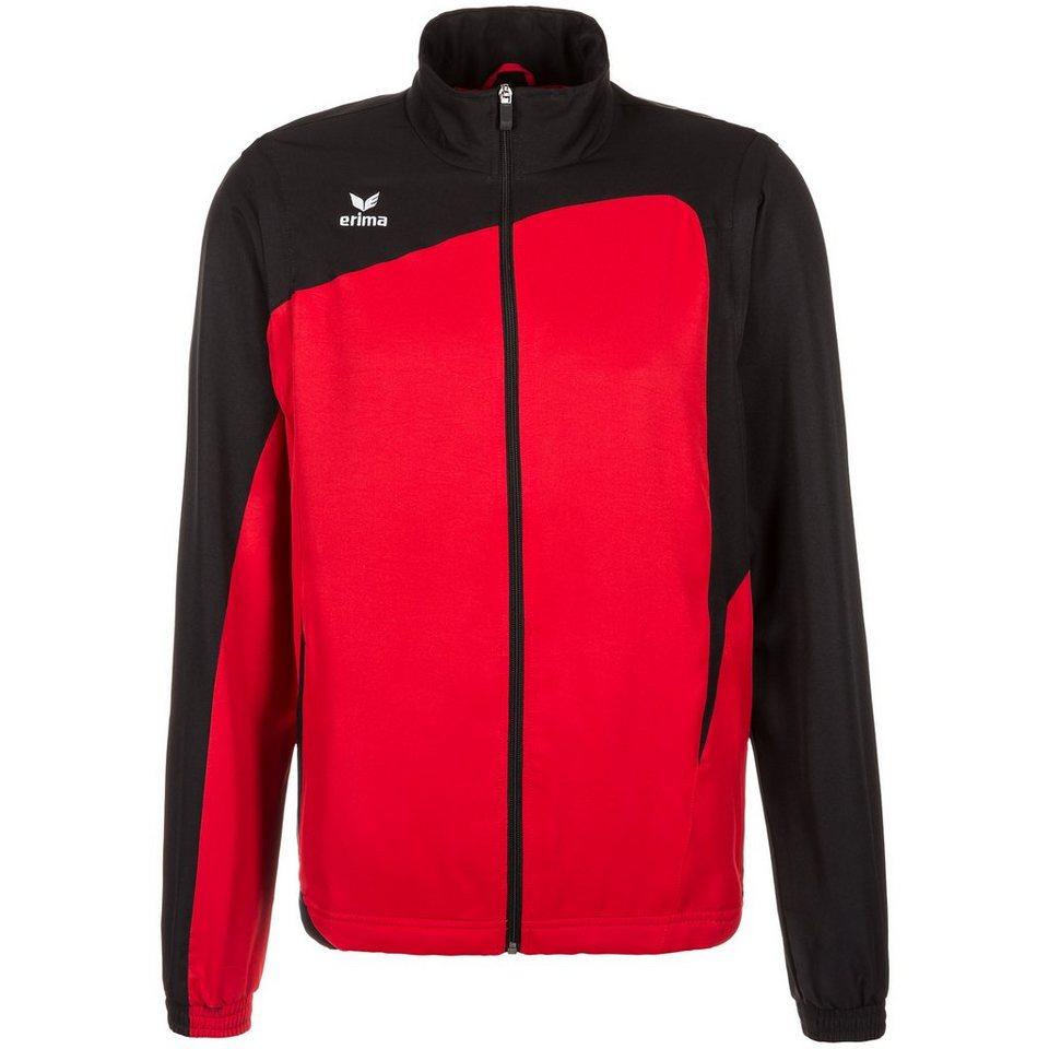 ERIMA CLUB 1900 Jacke Herren in rot/schwarz