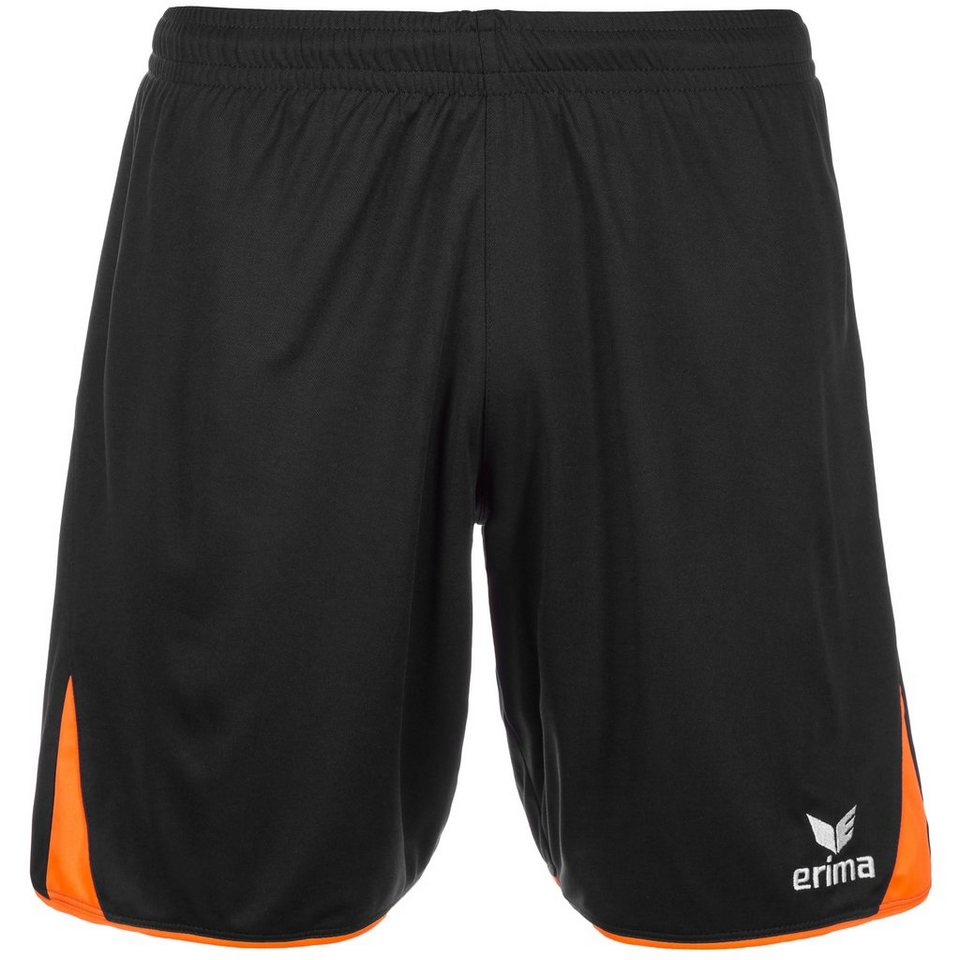 ERIMA 5-CUBES Short Kinder in schwarz/orange