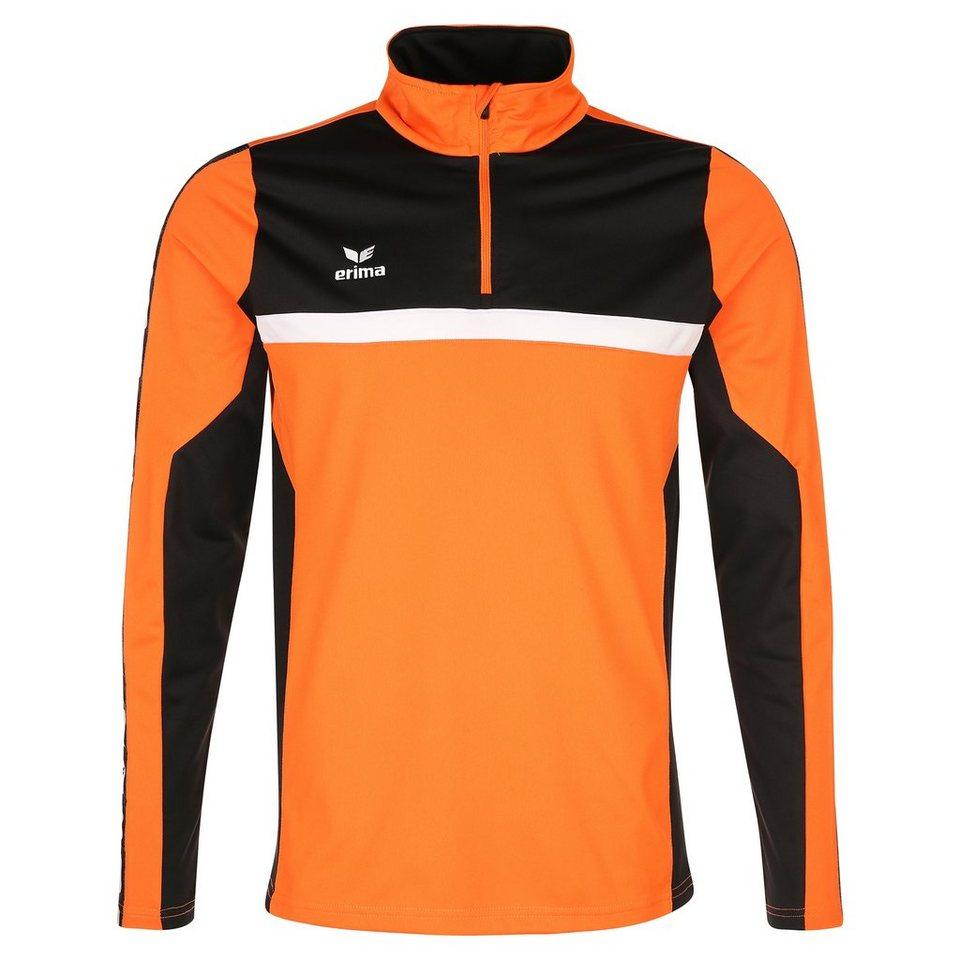 ERIMA 5-CUBES Trainingstop Kinder in orange/schwarz/weiß