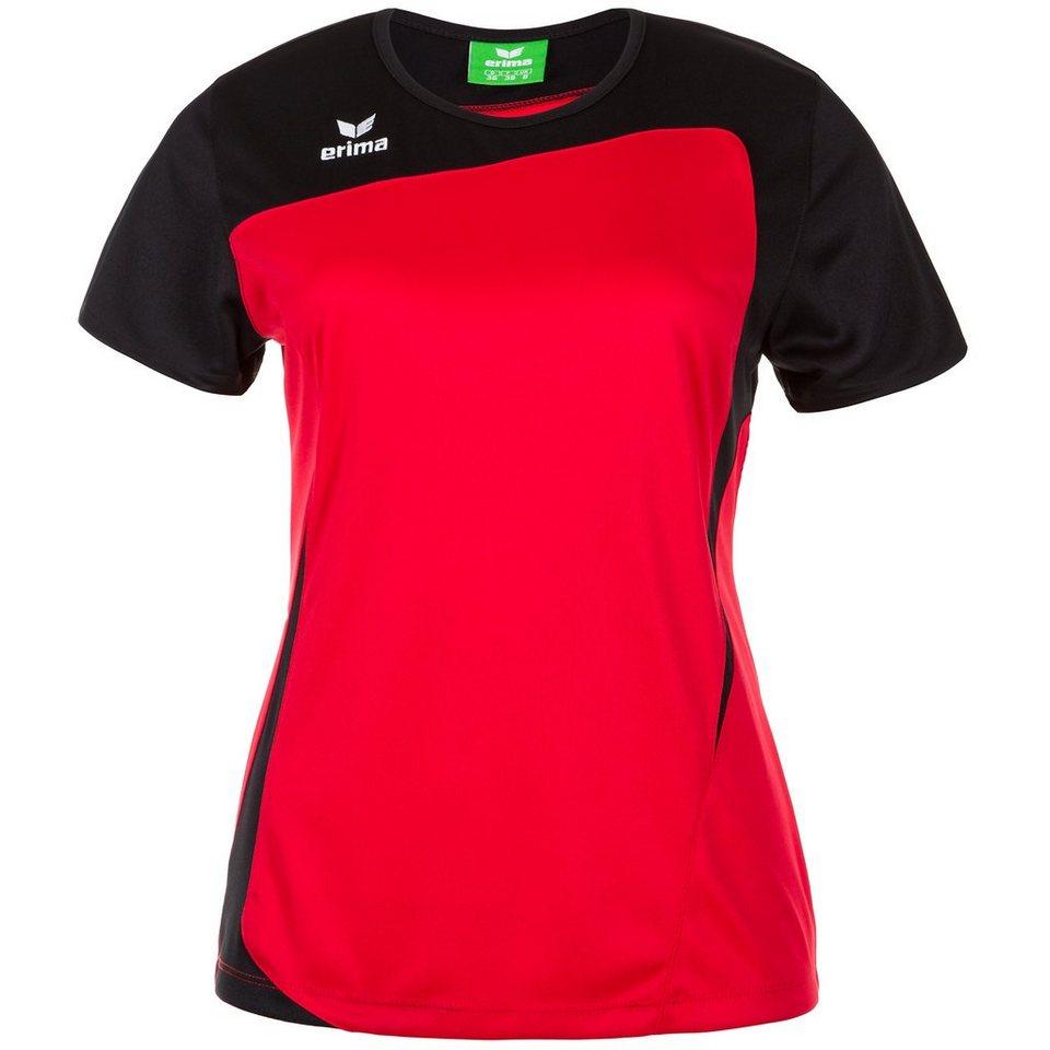 ERIMA CLUB 1900 T-Shirt Damen in rot/schwarz