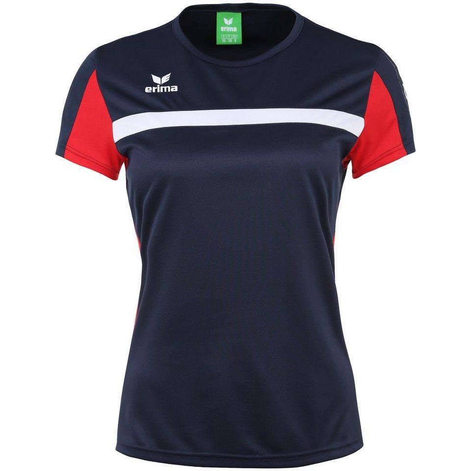 ERIMA 5-CUBES T-Shirt Damen in new navy/rot