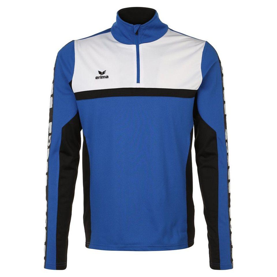 ERIMA 5-CUBES Trainingstop Herren in blau/schwarz/weiß