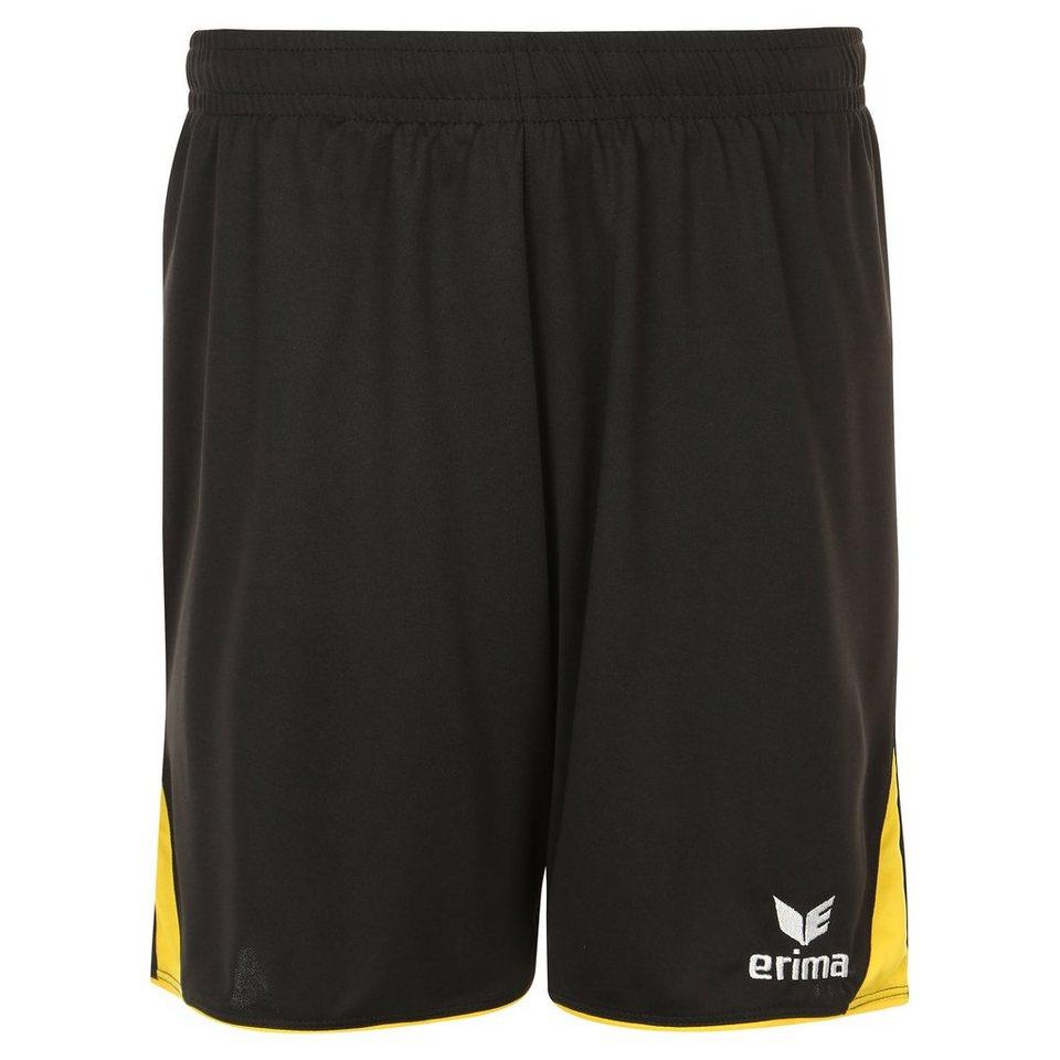 ERIMA 5-CUBES Short Kinder in schwarz/gelb