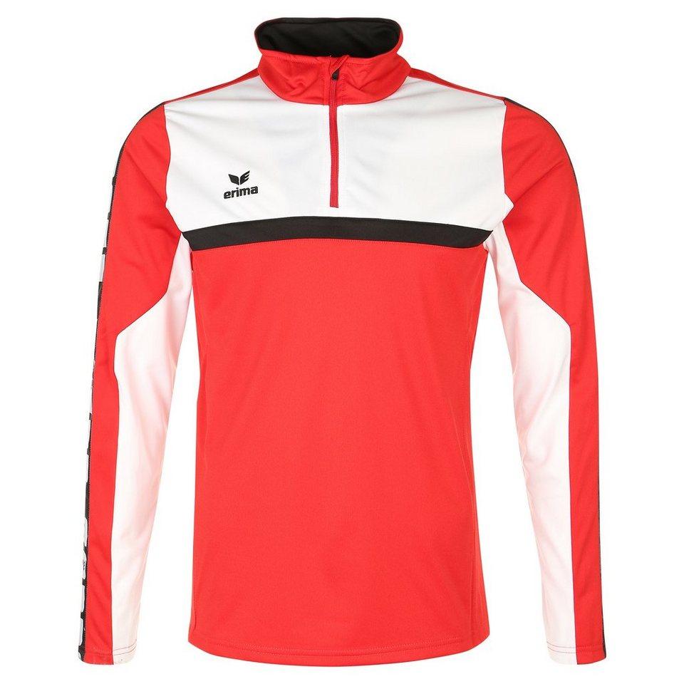 ERIMA 5-CUBES Trainingstop Herren in rot/weiß/schwarz