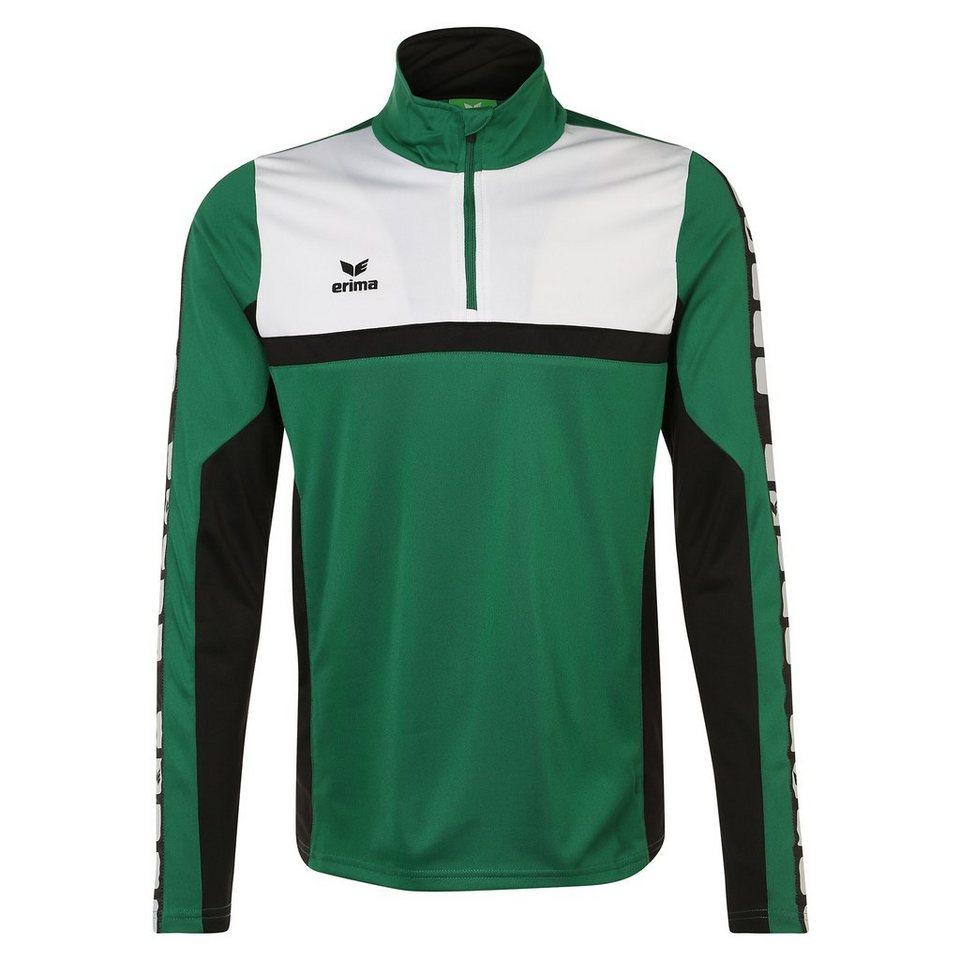 ERIMA 5-CUBES Trainingstop Herren in smaragd/schwarz/weiß