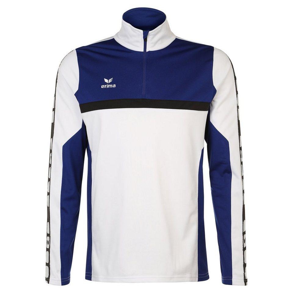 ERIMA 5-CUBES Trainingstop Herren in weiß/blau/schwarz