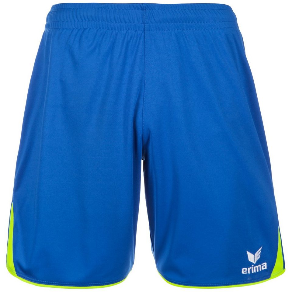 ERIMA 5-CUBES Short Kinder in new royal/neon gelb