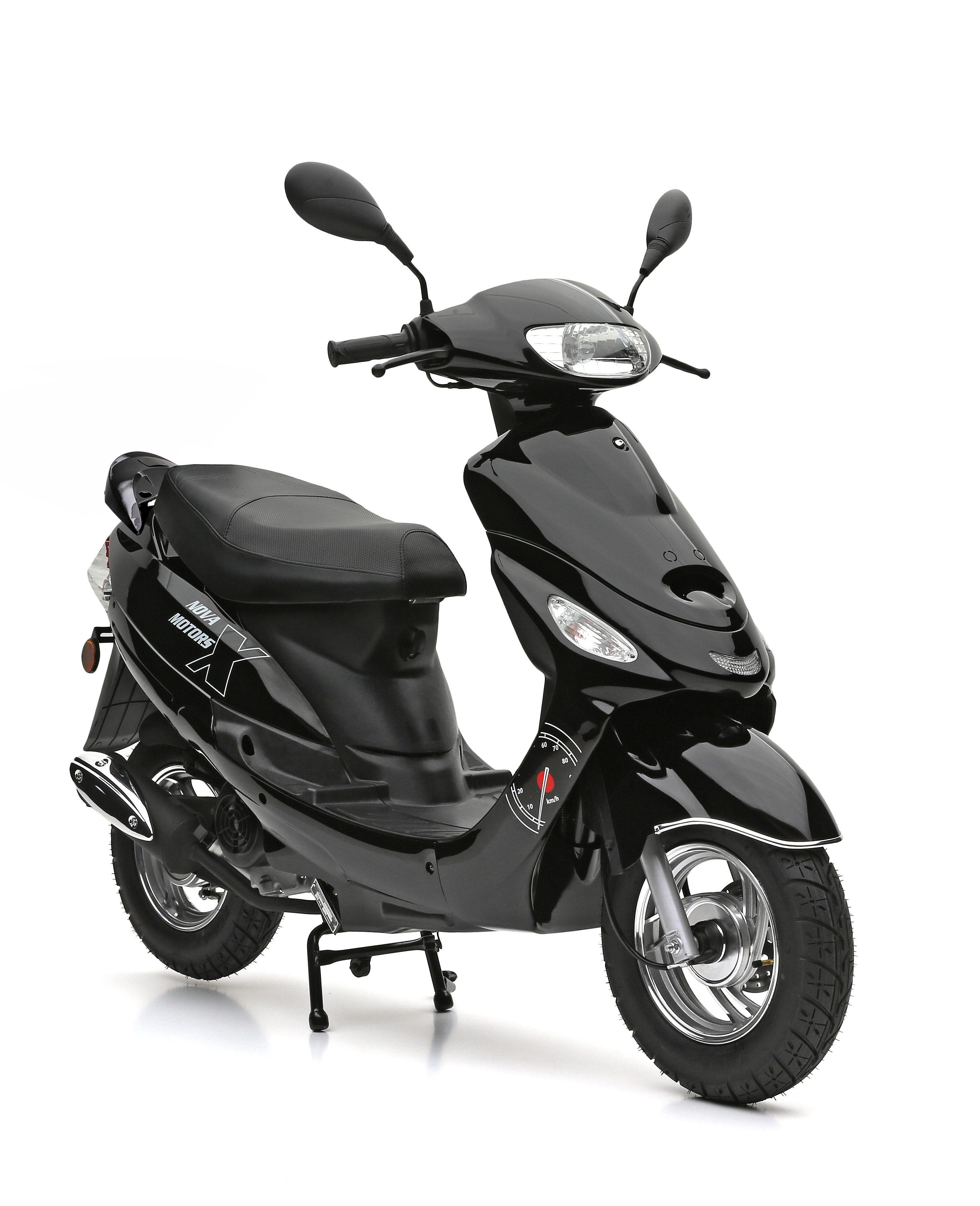 Nova Motors Motorroller, 49 ccm, 45 km/h, schwarz, »City Star«