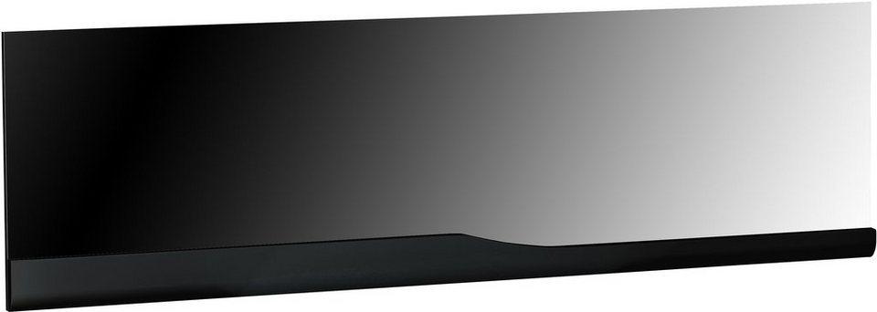S.C.I.A.E. Wandspiegel »Ovio«, Breite 180 cm in schwarz