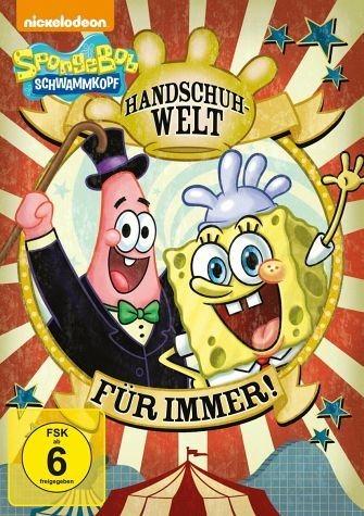 DVD »SpongeBob Schwammkopf - Handschuhwelt für immer!«