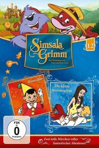 DVD »SimsalaGrimm 12 - Pinocchio / Die kleine...«