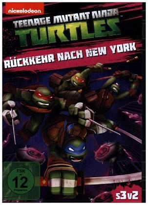 DVD »Teenage Mutant Ninja Turtles: Rückkehr nach...«