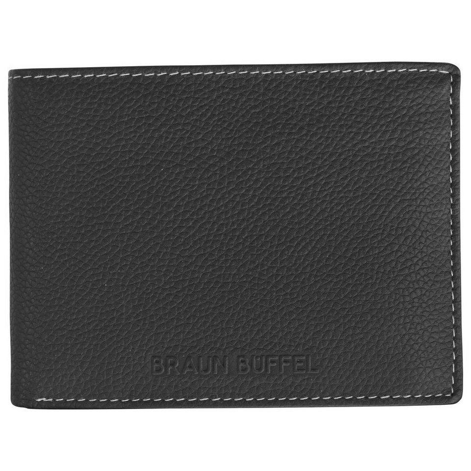 Braun Büffel Nice Geldbörse Leder 12,5 cm in schwarz