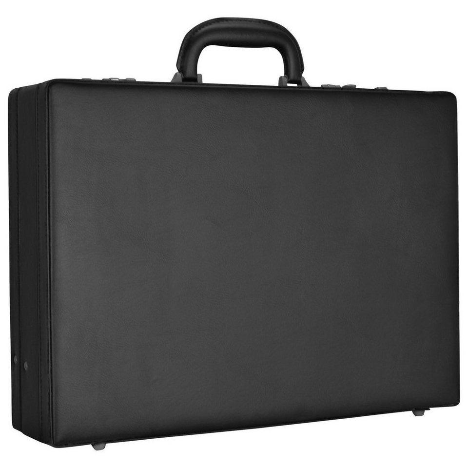 d & n Tradition Business Aktenkoffer 45 cm in schwarz