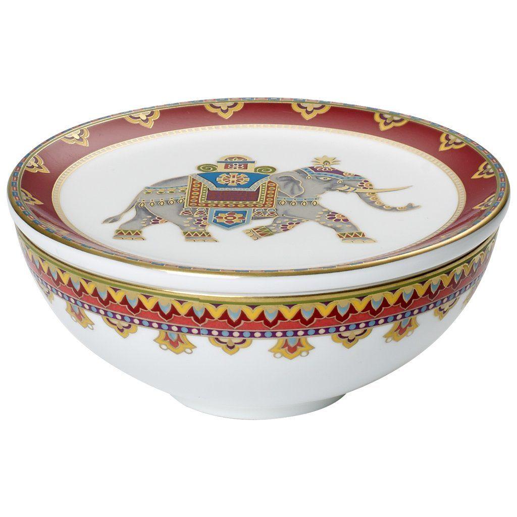 VILLEROY & BOCH Schmuckdose 11cm »Samarkand Rubin Gifts«