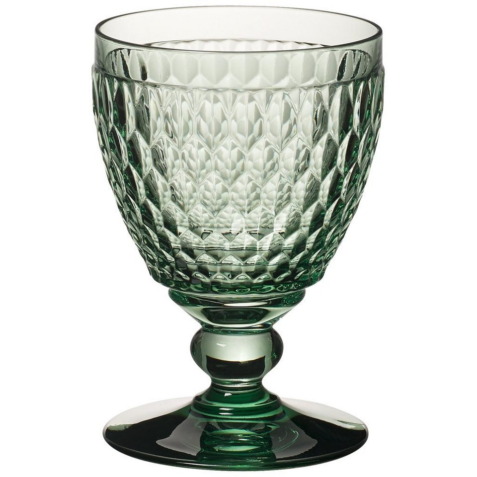 VILLEROY & BOCH Wasserglas green 144mm »Boston coloured« in Dekoriert