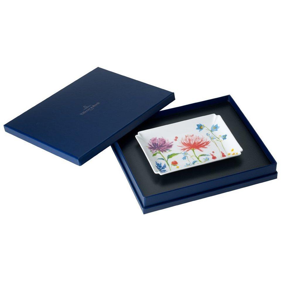 VILLEROY & BOCH Dekoschale 17x13cm »Anmut Flowers Gifts« in Dekoriert