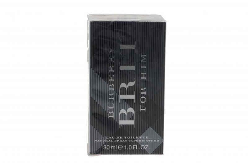 BURBERRY Eau de Toilette »Burberry Brit Eau De Toilette Spray 30 Ml für Männer«