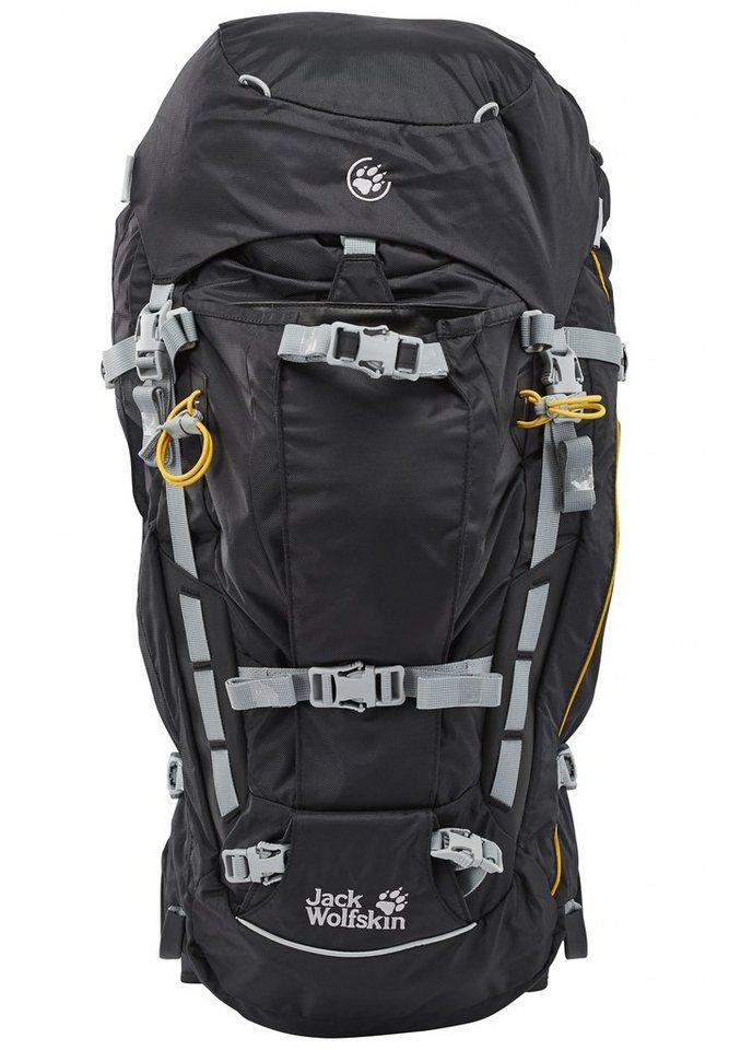 Jack Wolfskin Sport- und Freizeittasche »Mountaineer 48 Backpack« in schwarz