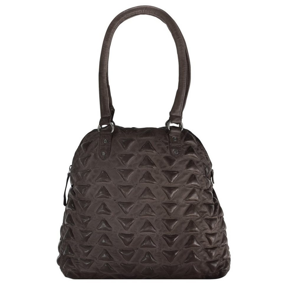 Billy the Kid Marokko Aisha Triangle Shopper Tasche Leder 34 cm in brown