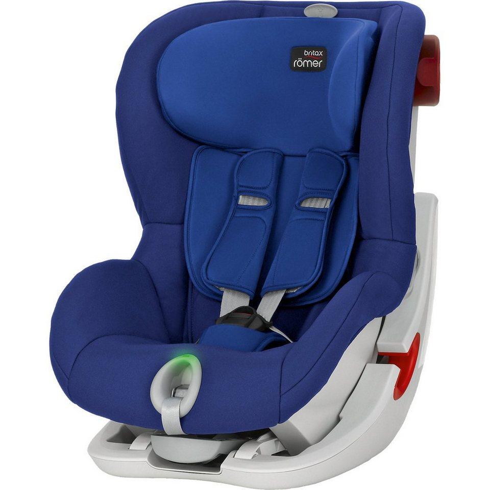 Britax Römer Auto-Kindersitz King II LS, Ocean Blue, 2016 in blau