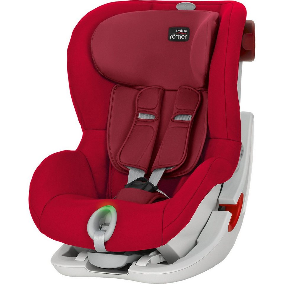Britax Römer Auto-Kindersitz King II LS, Flame Red, 2016 in rot