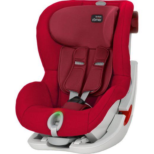 BRITAX RÖMER Auto-Kindersitz King II LS, Flame Red
