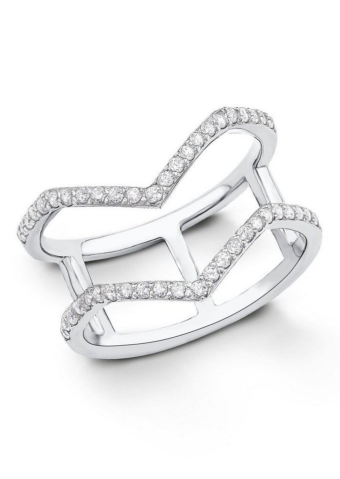 s.Oliver Silberring: Ring mit Zirkonia, »9029112« in Silber 925