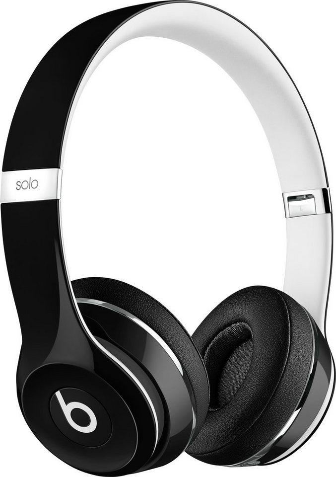Beats by Dr. Dre Solo 2 Luxe Edition On-Ear-Kopfhörer in schwarz