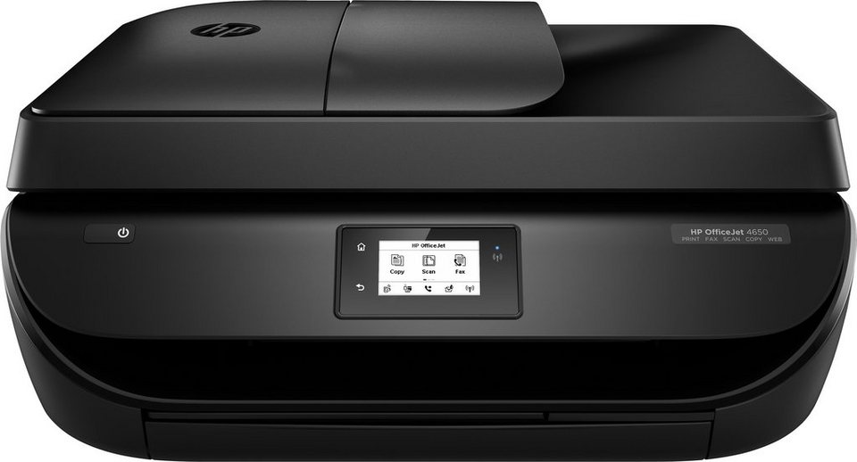 HP Officejet 4650 e-All-in-One Multifunktionsdrucker in schwarz