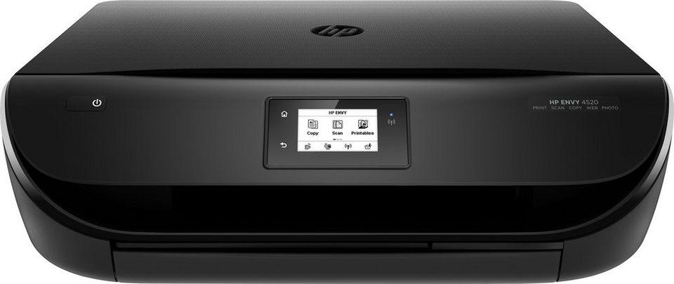 HP Envy 4520 Multifunktionsdrucker in schwarz