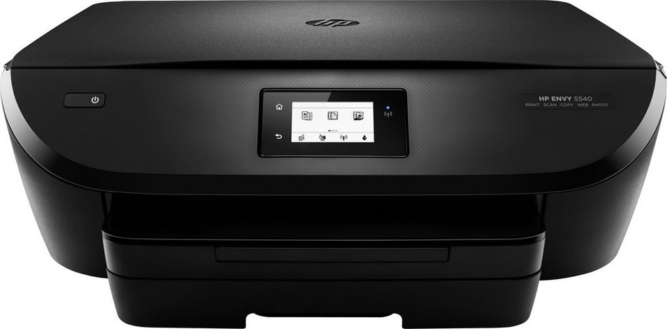 HP Envy 5540 Multifunktionsdrucker in schwarz