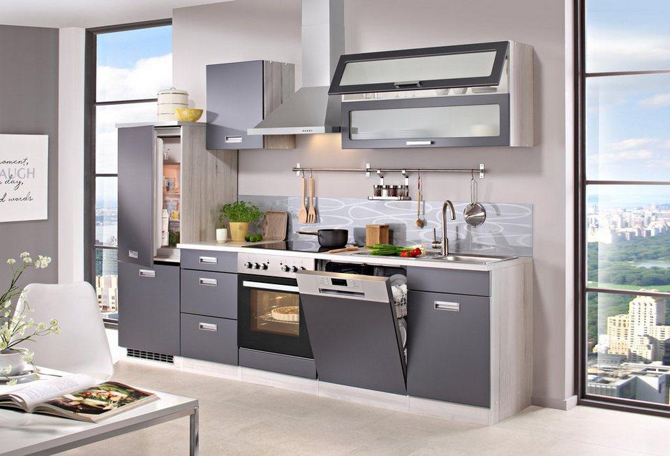 HELD MÖBEL Küchenzeile mit E-Geräten »Fulda, Breite 280 cm« online ...