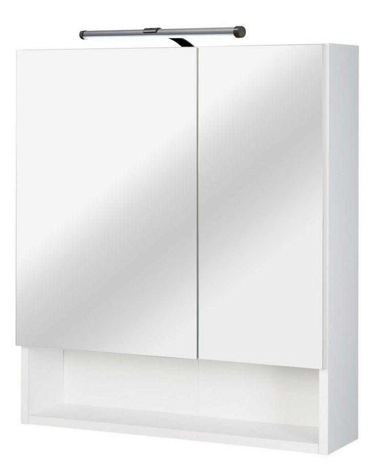 Spiegelschrank »Classic LED« Breite 60 cm, mit LED-Beleuchtung in weiß