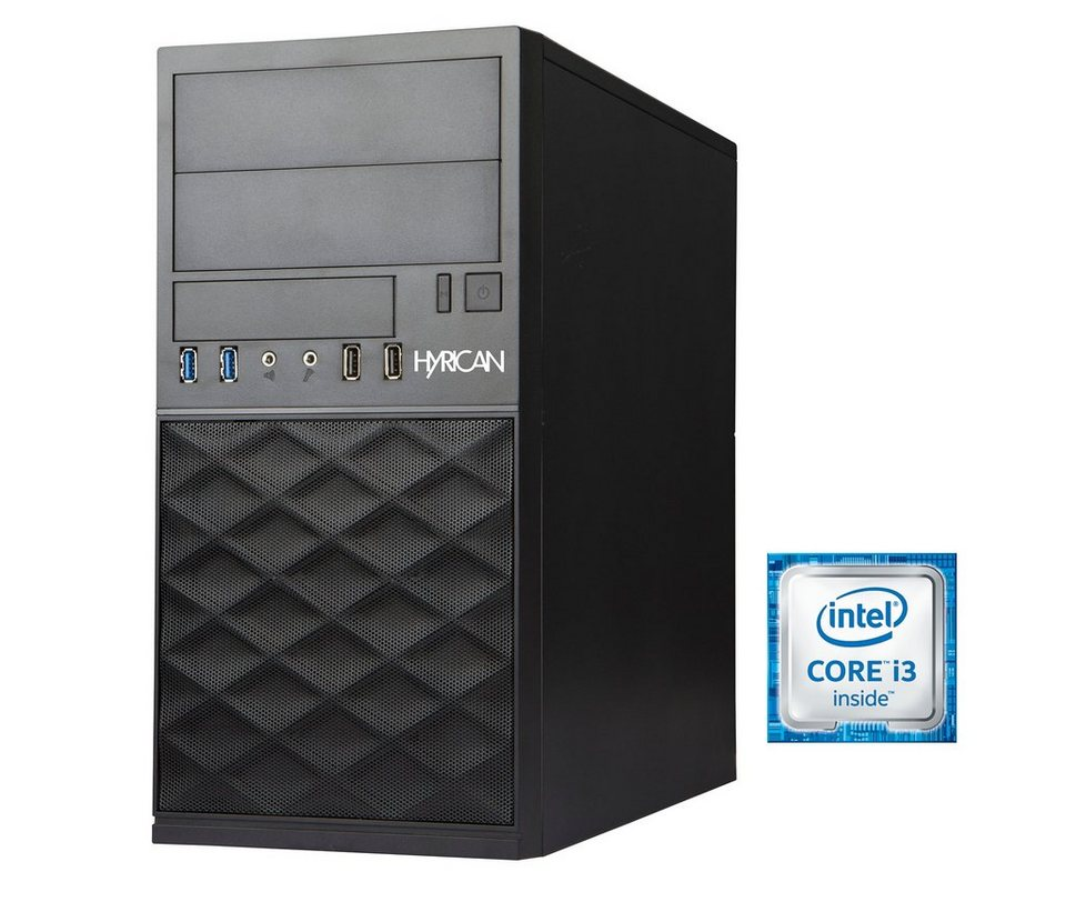 Hyrican Business PC Intel® Core™ i3-6100, 4GB RAM, 500GB HDD »Gigabyte Edition CTS00297«