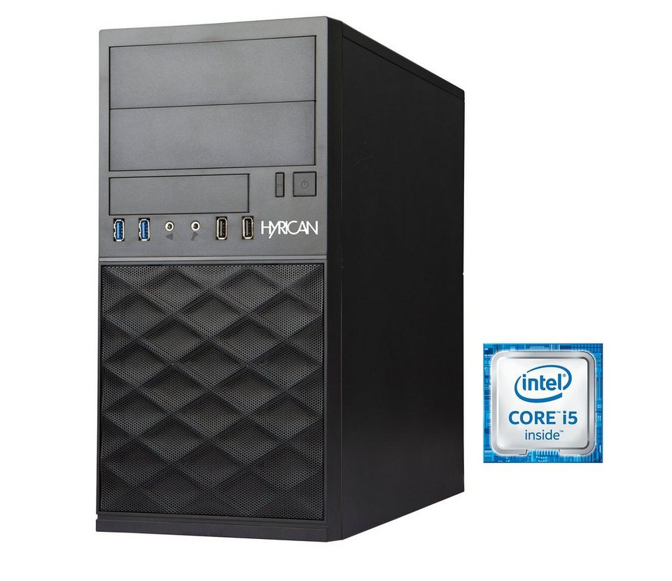 Hyrican Business PC Intel® Core™ i5-6400, 8GB, 1TB, Windows 10 Pro »Gigabyte Edition CTS00300«