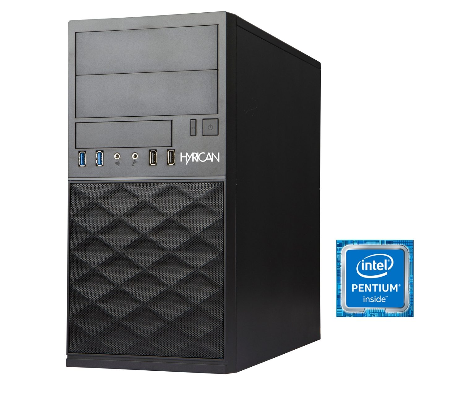Hyrican Business PC Intel® Pentium® G4400, 4GB RAM, 500GB HDD »Gigabyte Edition CTS00296«