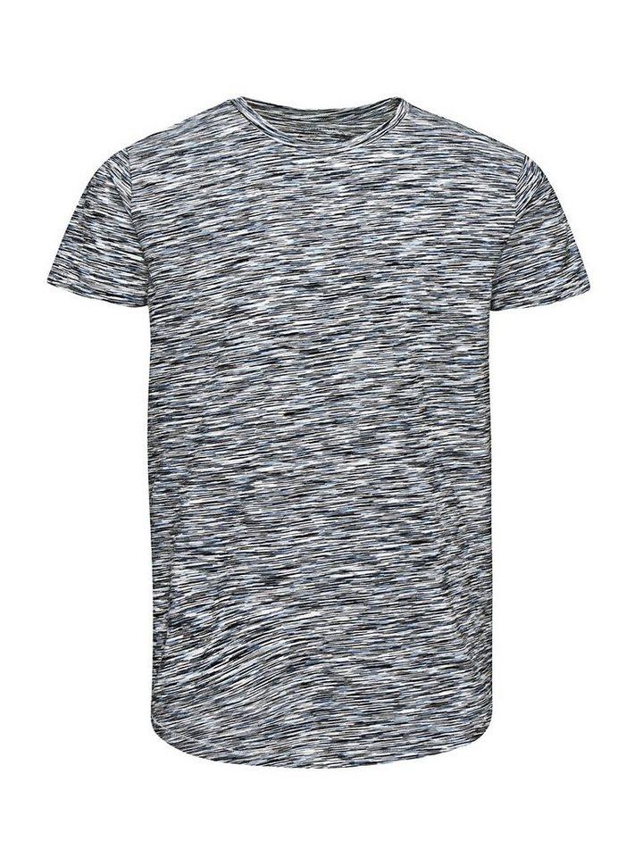 Jack & Jones Longline- T-Shirt in Cloud Dancer
