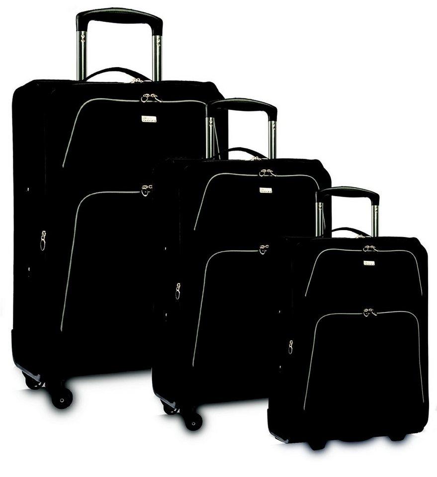 fabrizio weichgep ck trolley set mit 2 4 rollen 3 tlg. Black Bedroom Furniture Sets. Home Design Ideas