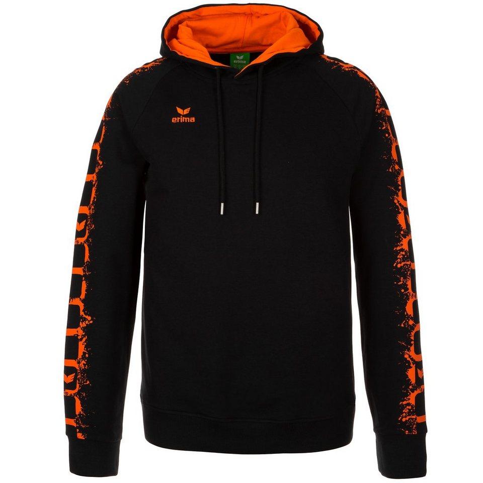 ERIMA GRAFFIC 5-C HOODIE Herren in schwarz/orange