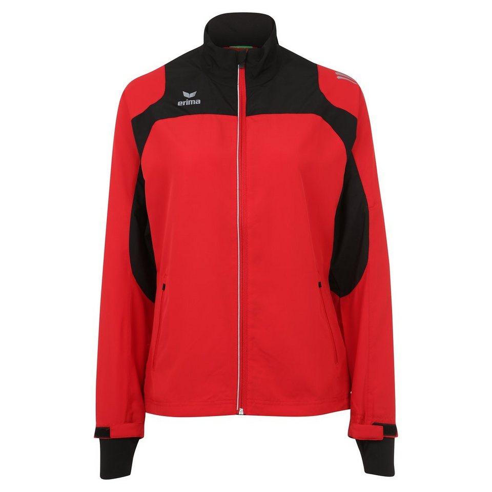 ERIMA Race Line Running Jacke Damen in rot/schwarz