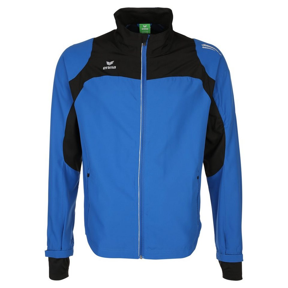 ERIMA Race Line Running Jacke Herren in new royal/schwarz