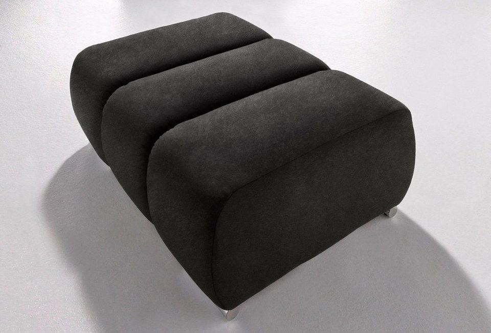 INOSIGN Hocker in schwarz/grau