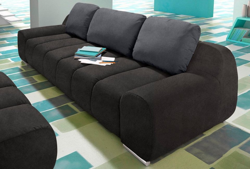inosign big sofa wahlweise mit bettfunktion online kaufen. Black Bedroom Furniture Sets. Home Design Ideas