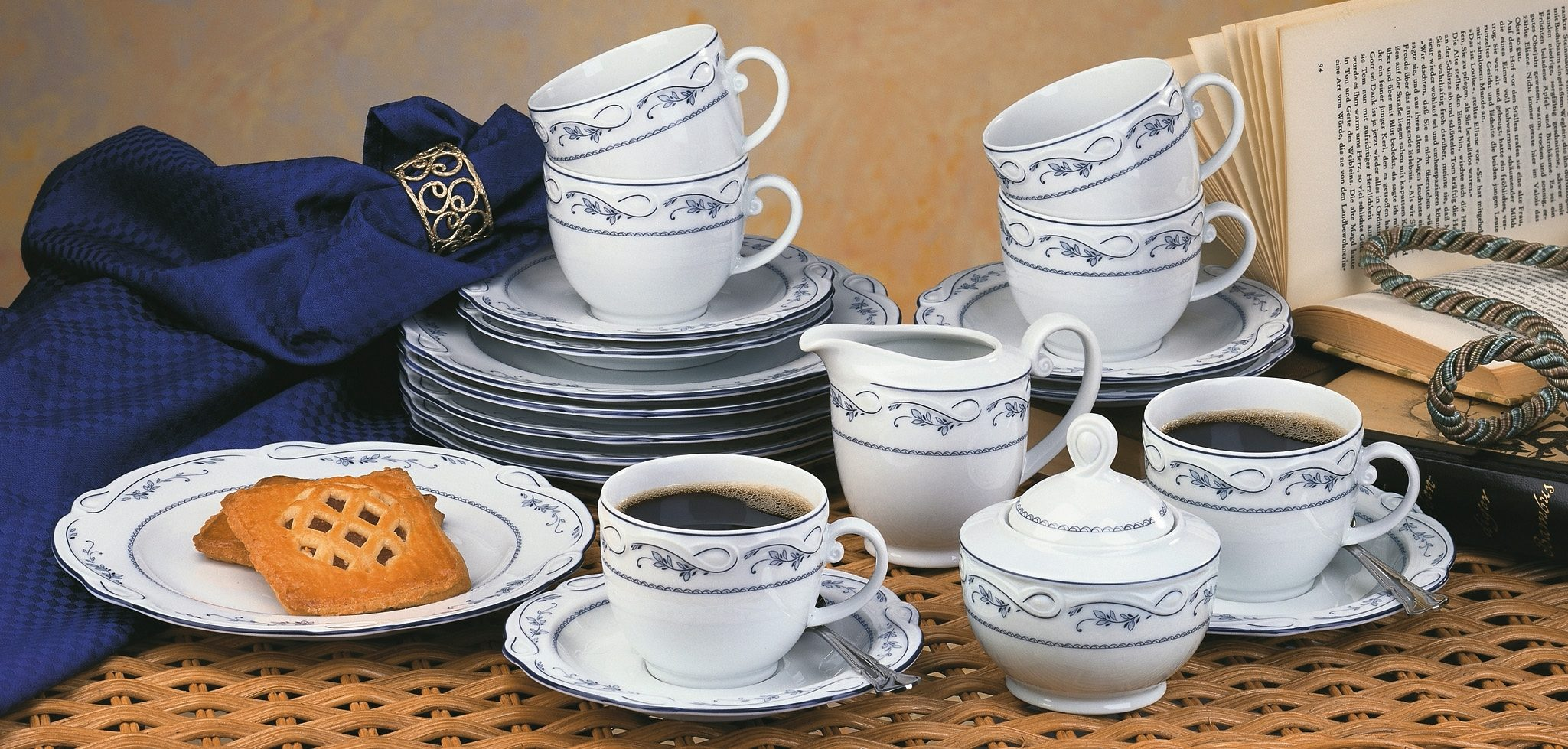 SELTMANN Weiden Kaffeeservice »Desiree Aalborg«, 20-teilig
