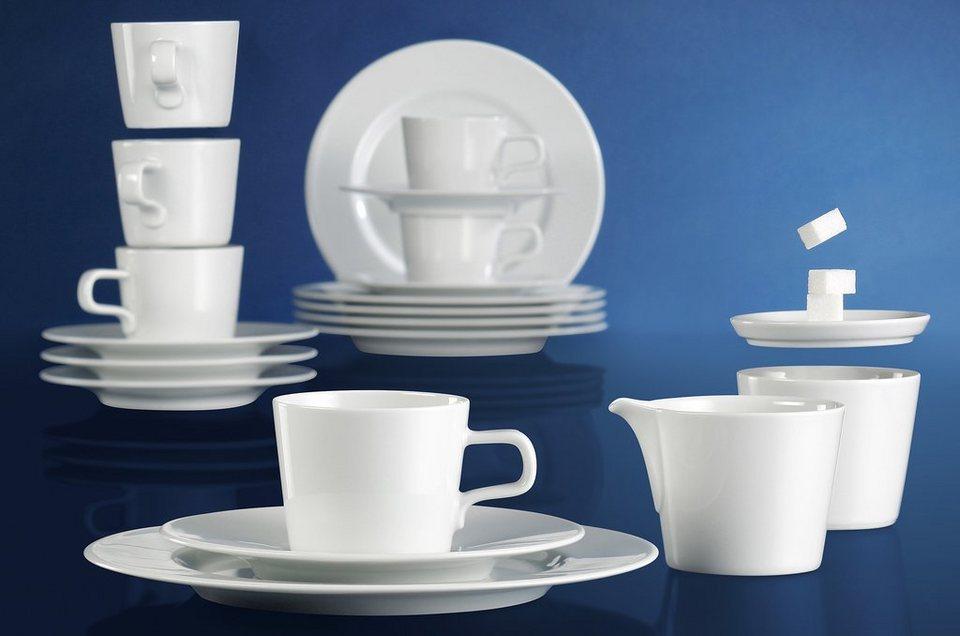 Seltmann Weiden Kaffeeservice 20-teilig, »No Limits« in weiß