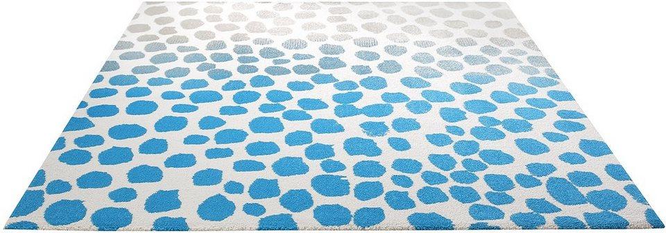 Teppich, Esprit, »Snugs«, gewebt in blau